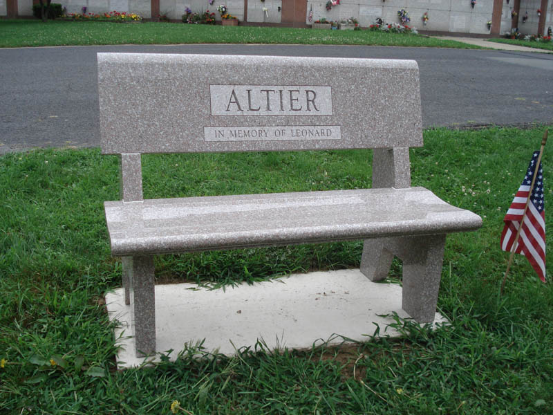 monument idea good memorial x photo granite urns bench benches of